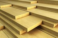 Stock Photo of stack of planks