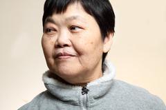 60s Senior Asian Woman Stock Photos