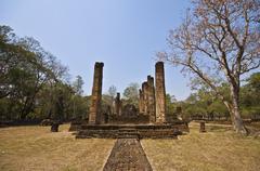 Wat Chedi Chet Thaeo Stock Photos