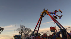 Adrenaline amusement park - stock footage