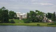 Stock Video Footage of Cameron gallery. Pushkin. Catherine Park. Tsarskoye Selo. 4K.