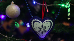 Christmas Background 5 Stock Footage