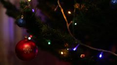 Toys Christmas Tree 3 - stock footage