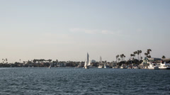 Alamitos Bay, Long Beach  Time Lapse Video - stock footage