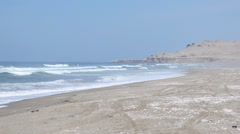 Peru south beach Stock Footage