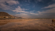 Stock Video Footage of Dead sea water clouds Timelapse 1213 1 4K