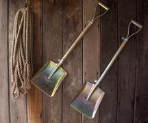 Stock Photo of agricultural tool kits of thailand.