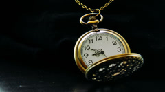 Pocket Watch Time Lapse Graded Stock Footage