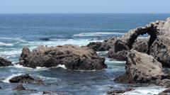Peru rocky formation Stock Footage