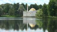 Turkish bath. Pushkin. Catherine Park. Tsarskoye Selo. 4K. Stock Footage