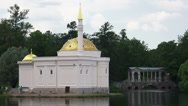 Stock Video Footage of Turkish bath. Pushkin. Catherine Park. Tsarskoye Selo. 4K.