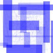 blue rectangle background - stock illustration