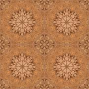 Seamless pattern, mosaic of fabric - stock illustration