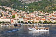 Stock Photo of View to Makarska, Croatia