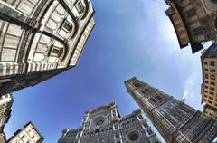 Piazza del Duomo, Firenze - stock photo