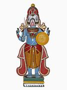 Statue of Hindu Lord, Kalika Stock Photos