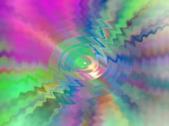 Abstract color ripple Stock Photos
