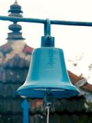 Stock Photo of Bells at temple, Kerala, India