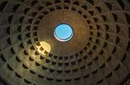 Stock Photo of dome of the pantheon, rome, italy
