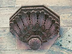 Stock Photo of Carved part of Indore Palace (King Holkar's Palace). Indore, Mad