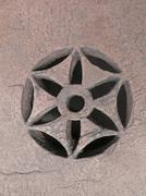Carved Part at Pearl Mosque, Moti Masjid, Bhopal, Madhya Pradesh Stock Photos