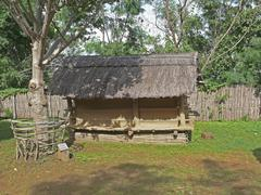 Dwelling style of Tribal, Bodo Kachari - stock photo