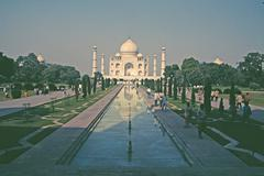 Stock Photo of Taj Mahal, Agra, India