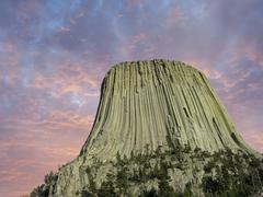Colors of Devils Tower Stock Photos