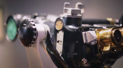 Marine binoculars Stock Footage