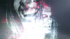 Horror Grunge Death Light Leak Stock Footage