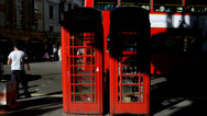 Stock Video Footage of Phone Booth timelapse. London