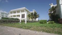 Hotel Villa in Jamaica Stock Footage