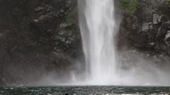 Waterfall in Batad, Philippine. Stock Footage