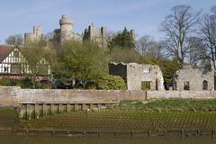 Arundel Castle. West Sussex. England - stock photo
