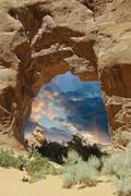 Nature of Arches National Park Stock Photos