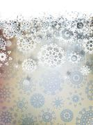 High definition snowflakes. EPS 10 - stock illustration