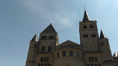 High Cathedral of Saint Peter in Trier, Germany Stock Footage