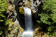 Stock Photo of Waterfall in Washington State