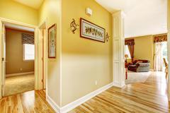 House interior. hallway view Stock Photos