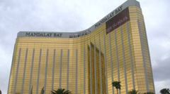Mandalay Bay Hotel and Casino Las Vegas 4K Stock Footage