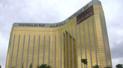 Mandalay Bay Hotel and Casino Las Vegas Stock Footage