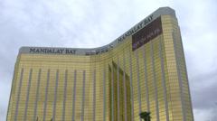 Mandalay Bay Hotel Las Vegas Stock Footage