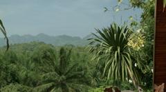 Thailand close to Sai Yok national park Stock Footage