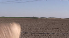 Farming ,drought and water Stock Footage
