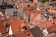 Stock Photo of Roofs in the old town of Tuebingen, Germany