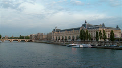 Musee d'Orsay - Paris France Stock Footage