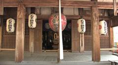 Fudo-do of Kinkaku-ji in Kyoto, Japan Stock Footage