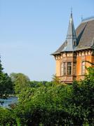Palace in Djurgarden (Stockholm, Sweden) - stock photo