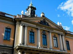 Swedish Academy in Stockholm (Sweden) Stock Photos