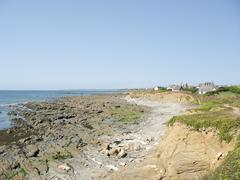 Sea coast in Brittany Stock Photos